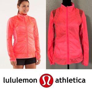 """Lululemon """"Nothin' to hide"""" flash light jacket"""